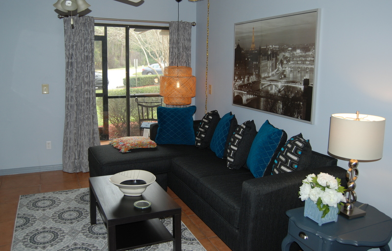 Furnished Apartments - The Living Room