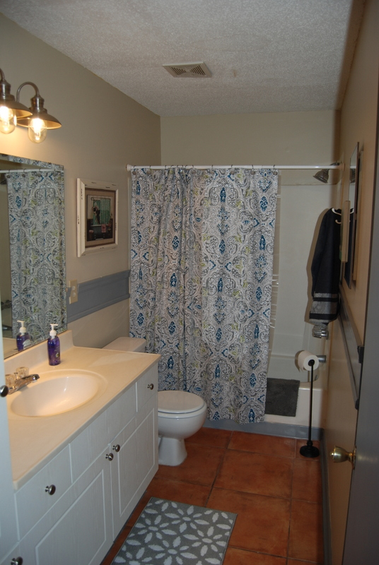 Furnished Apartments - The Master Bathroom