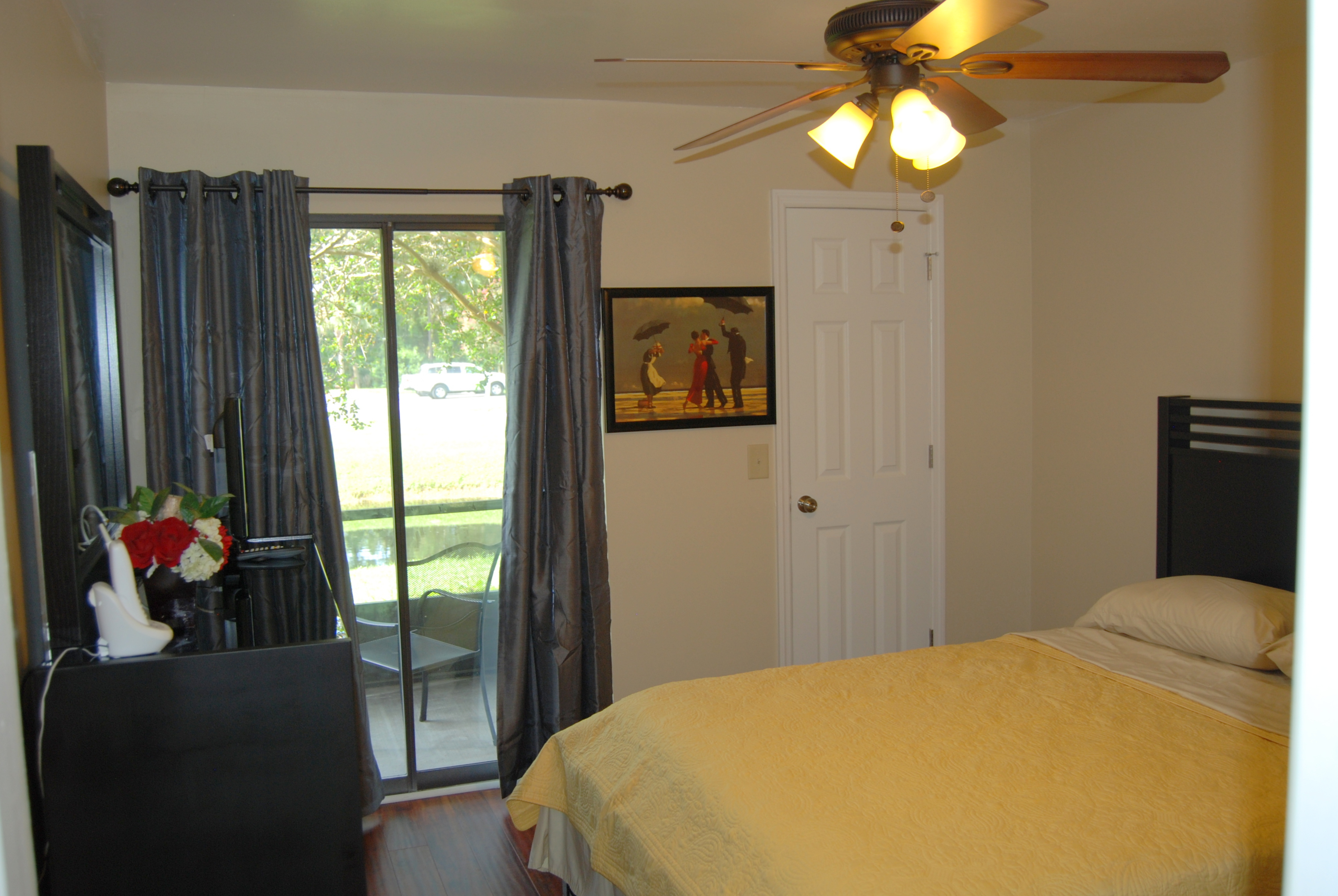 Short Term Housing - The Master Bedroom